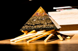 "Orgonitpyramide XL ""Cheops goldener Schnitt "" Elementewirbel  Paket_"