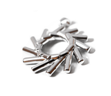 Elementewirbel Anhänger 925 Silber | Ein Schmuckstück für die Seele_