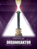 OrgonReaktor Premium + 3 Elementewirbel Frequenzharmonisierer Set_