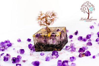 "Der Lebensbaum Orgonit ""Rosenquarz"""